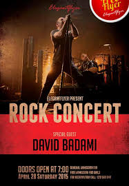 download the free rock concert free flyer template for photoshop