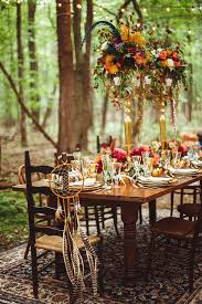 how to host the excellent bohemian chic outdoor dinner celebration