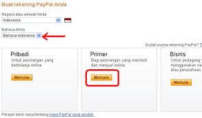 cara membuat paypal online cara mendaftar paypal indonesia secara mudah dan gratis blog