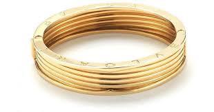 yellow bangle bracelet images Lyst bvlgari pre owned bvlgari 18k yellow gold bangle bracelet jpeg