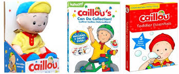 caillou caillou u0027s collection dvd frugal mom eh