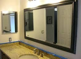 framed bathroom mirror cabinet oak framed bathroom mirrors oak framed mirrors bathroom awesome oak