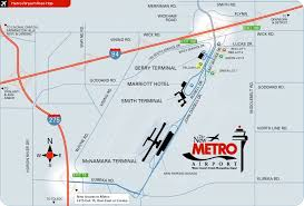detroit metro airport map detroit metro airport area map dtw mappery