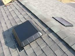 remote panel solar attic fan sunrise solar