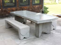 Building Outdoor Furniture What Wood To Use by 10 Easy Pieces Concrete Outdoor Furniture Gardenista