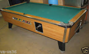 Valley Bar Table Buy Valley Bar Size Commercial 7 Coin Operated Pool Tabl In