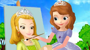 sofia the first painting amber u0026 sofia u0027s face painting compilation