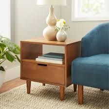 Modern Side Tables For Living Room Better Homes And Gardens Flynn Mid Century Modern Side Table