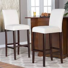material for kitchen cabinet bar stools white leather bar stools with chrome legs for kitchen