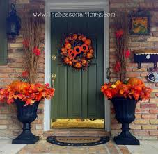 Halloween Wreath Ideas Front Door Front Doors Fun Coloring Fall Decorations For Front Door 36
