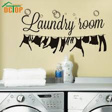 Laundry Room Wall Decor by Online Get Cheap Laundry Decor Decal Aliexpress Com Alibaba Group