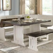 breakfast nook table only breakfast nook table in bourbon table only nebraska furniture mart