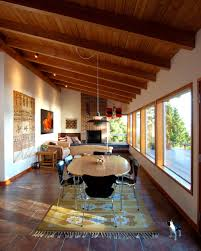 decorating contemporary dining room plus area rug and modern