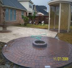 Concrete Patio Houston Pictures For Houston Patio U0026 Deck Custom Concrete Patios In
