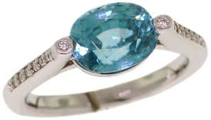 zircon rings images Blue zircon rings val casting inc jpg