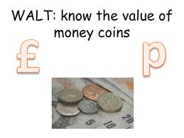 recognising naming and knowing the value of money by tashdevo21