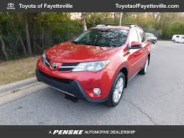 toyota awd 2015 used toyota rav4 awd 4dr limited at honda of fayetteville