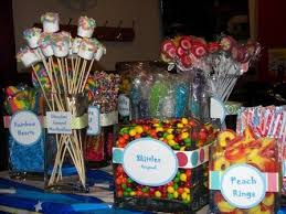 Candy Tables Ideas Cute Sweet 16 Candy Table Ideas Tim Bits Mini Donuts Cotton