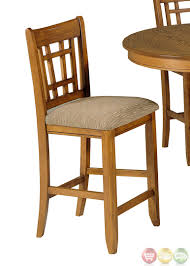 mission style dining set usa made mission style oak dining room