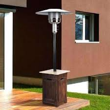 Table Top Gas Patio Heater by Patio Shinerich Patio Heater With Table Outdoor Propane Patio