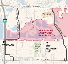 Lakewood Ranch Florida Map by Wider Lwr Ranch Boulevard In Gear East County Your Observer