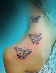 15 gorgeous shoulder butterfly desgns pretty designs
