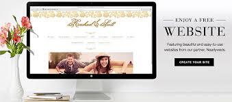 free wedding website free wedding website w online rsvp wedding paper divas
