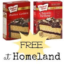 free duncan hines cake mix at homeland coupon closet