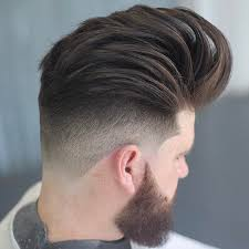 is there another word for pompadour hairstyle as my hairdresser dont no what it is undercut fade pompadour haircuts and fade haircut