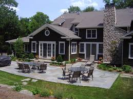 patio ideas for ranch style homes design landscaping gardening