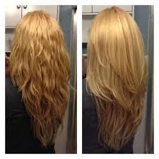 v cut layered hair long layered v cut haircuts front view google search hair