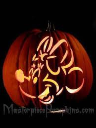 12 best photos of mickey and minnie pumpkin pattern mickey and