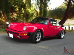 1986 porsche targa 930 turbo look targa carrera