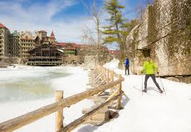 winter activities family mountain resort in ny mohonk