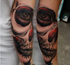 best skull sleeve tattoos fantastic