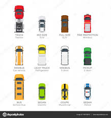 vehicle top view modern vehicle transport top view vector icons set u2014 stock vector