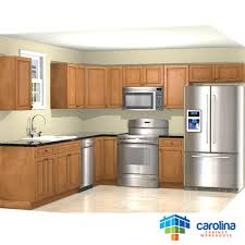 Rta Solid Wood Kitchen Cabinets by Solid Wood Kitchen Cabinets Hazelnut 10x10 Rta Kitchen Cabinets