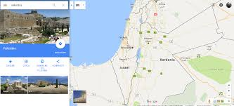 google has replaced palestine with israel on google maps and