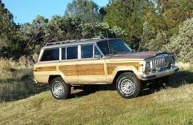 1989 jeep wagoneer lifted 1989 jeep grand wagoneer woody v8 auto for sale in el dorado county ca