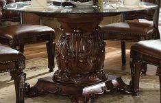 Glass Top Pedestal Dining Tables Glass Top Pedestal Dining Table Fiin Info
