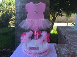 Centerpieces For Baby Showers by Baby Shower Ballerina Centerpiece Youtube