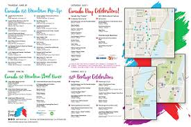 Map Of Charlotte View Or Download This Map Of All The Canada 150 Events In