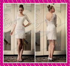 2013 lace sheath square 1 2 sleeves short beach garden wedding