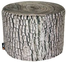 woodsmen naturescape mini tree trunk stool mw170