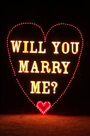 will you marry me signs in lights will you marry me city of yukon