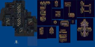 Final Fantasy 6 World Map by Snes Final Fantasy 6 Zozo The Spriters Resource