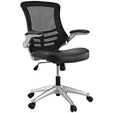 Ergonomic Arm Chair Amazon Com Mesh Task Office Chair With Flip Up Arms Color Black