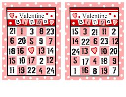 valentines bingo visiting teaching bingo 2 different sets of