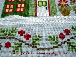 Country Cottage Needlework by Happiness Is Cross Stitching Santa U0027s Village Cross Stitch