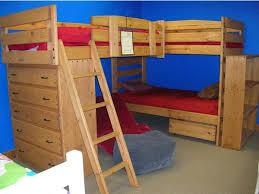 B Triple Lindy Bunk Full The Bunk  Loft Factory - Triple lindy bunk beds
